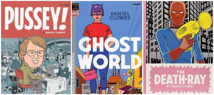 daniel clowes books