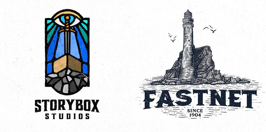 logos by by Dusan Klepic