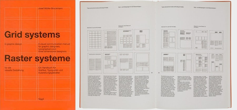 design books: grid systems