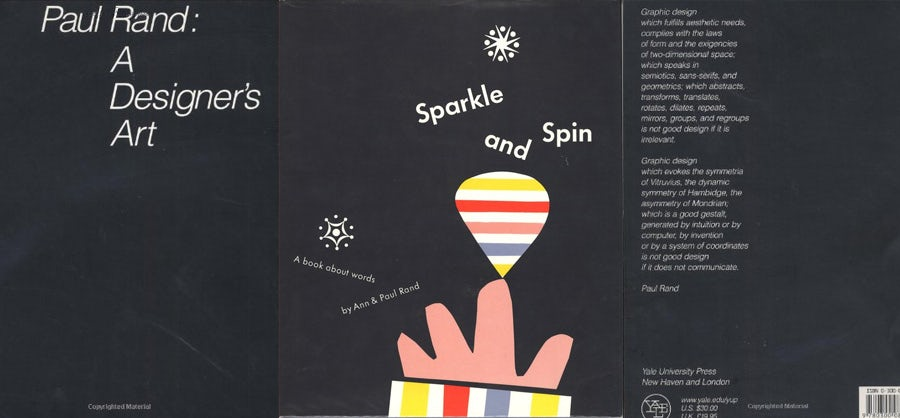 design books: paul rand a designer's art