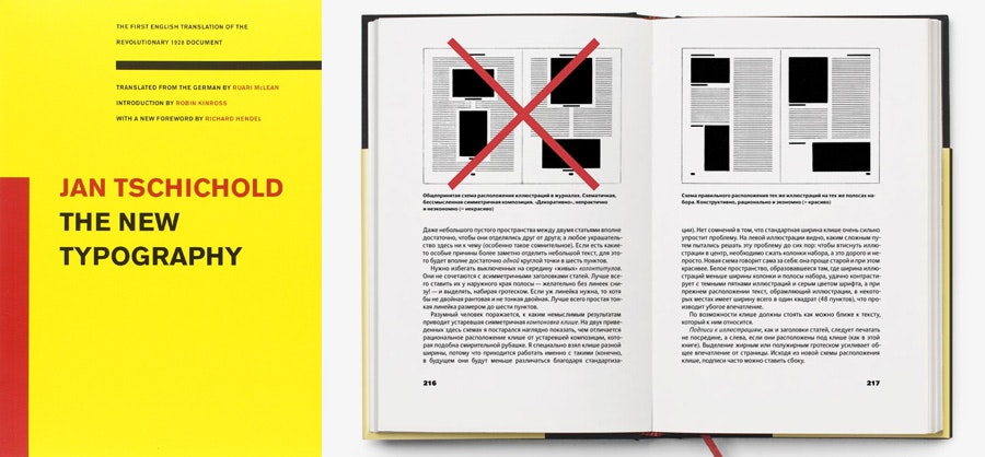 design books: the new typography