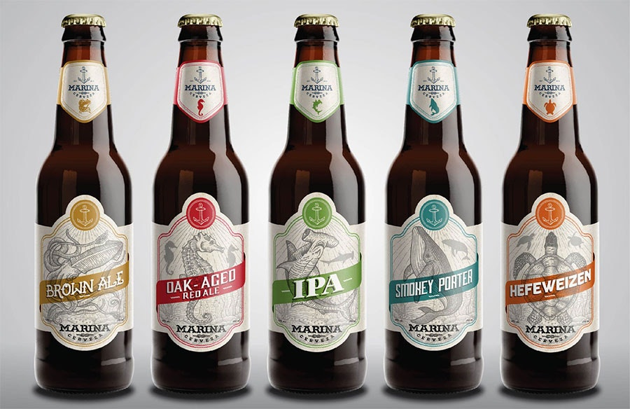 Beer Label Brilliance From Mantsa® - 99Designs Blog