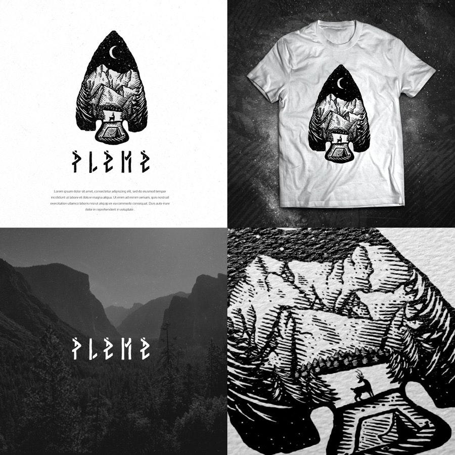 pleme logo by Dusan Klepic
