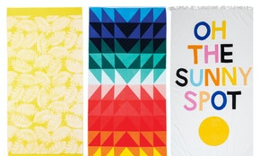 10 summer-worthy beach towel designs