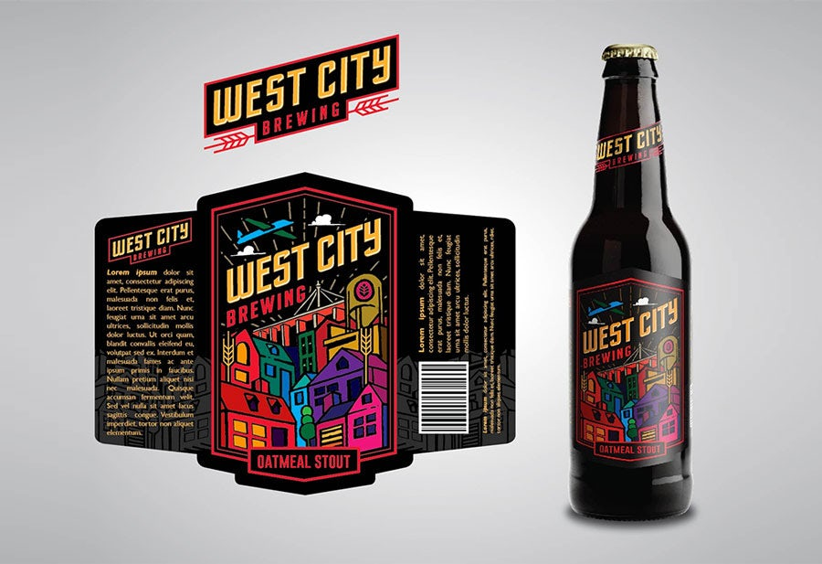 beer label design by MANTSA