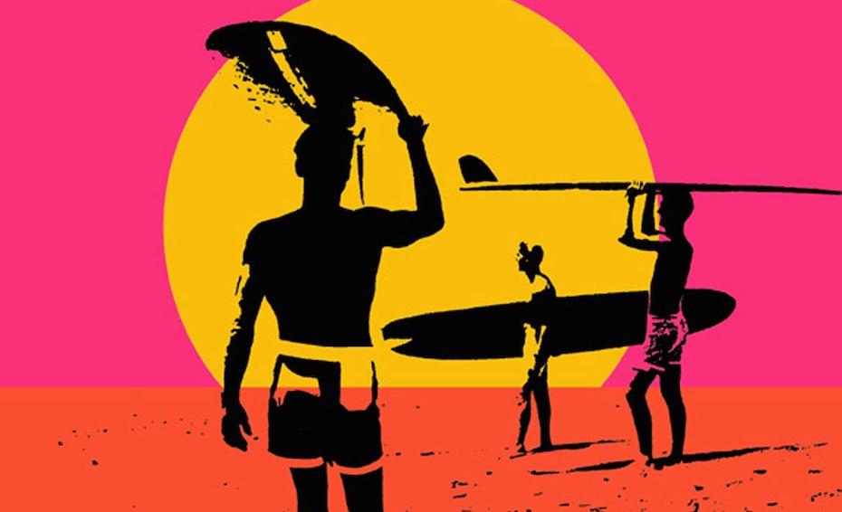 famous surf art: Endless Summer