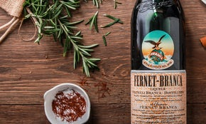 Liqueur labels capture a bygone era