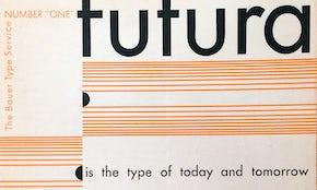 書体を知ろう:Futuraの驚くべき過去