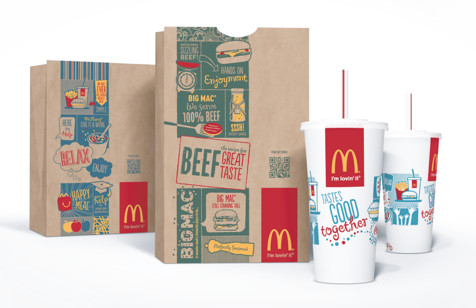 Mc Donald's packaging