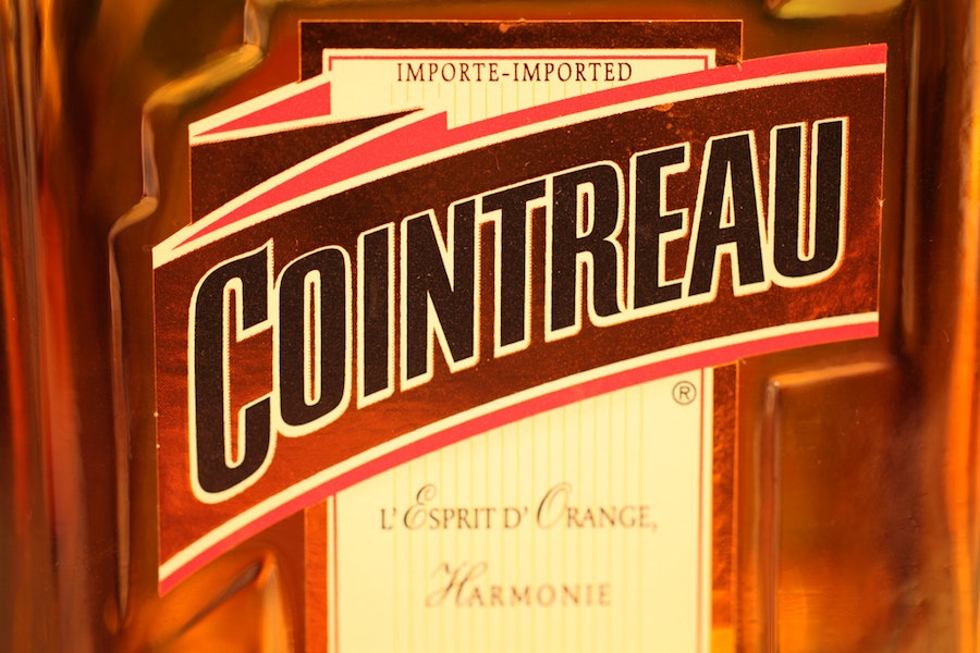 cointreau liqueur label