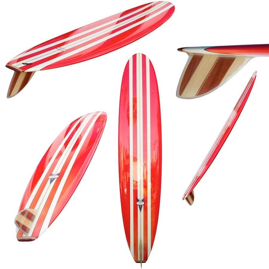 modern surfboard