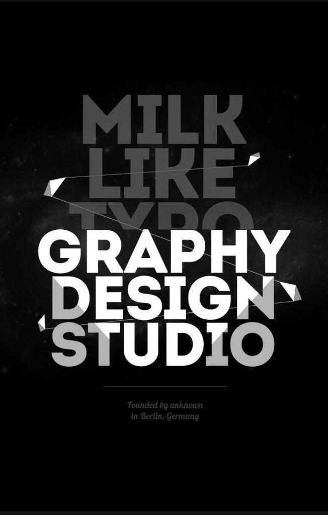 Intro Free Font (by Miroslav Bekyarov)