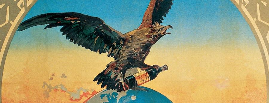 Fernet Branca liqueur label