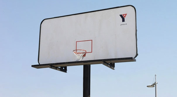 basketball backboard billboard