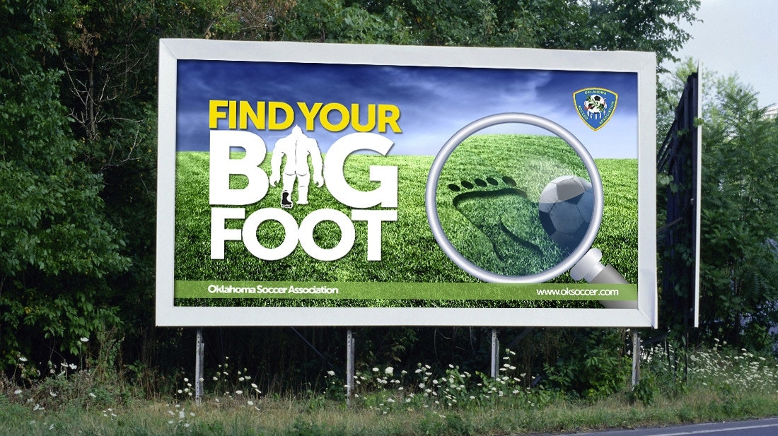 bigfoot soccer billboard