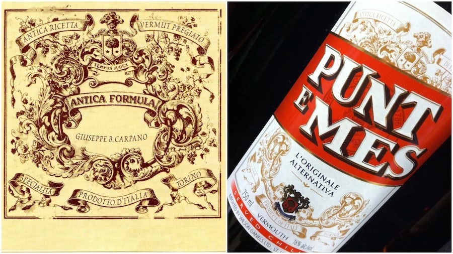 carpano liqueur labels