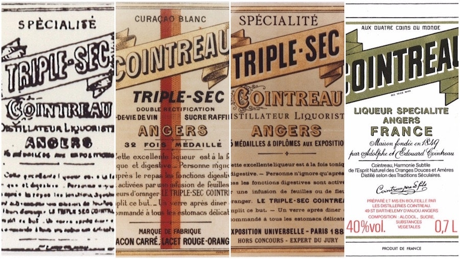 cointreau labels