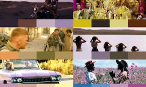 10 color palettes from famous movies