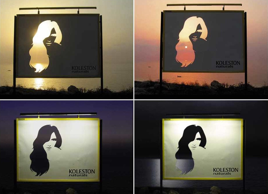 koleston hair billboard