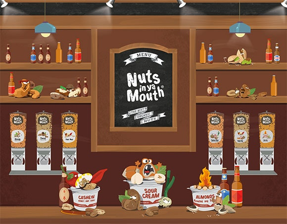 Nuts in ya Mouth web design by eJump Media