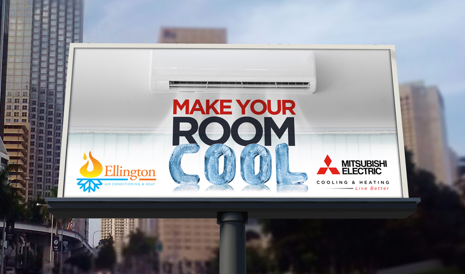 billboard cool ellington mitsubishi electric