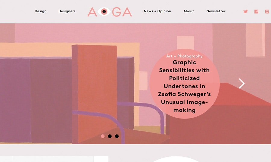 AIGA design blog