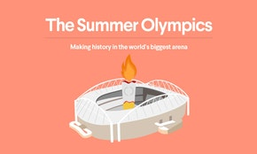 The Olympics, illustrated