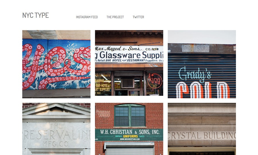 NYC type blog