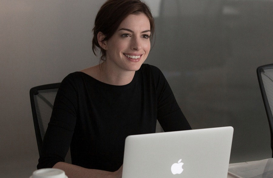 Anne Hathaway in The Intern