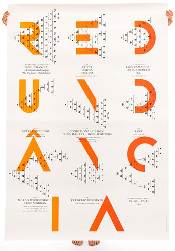 typography with color pop