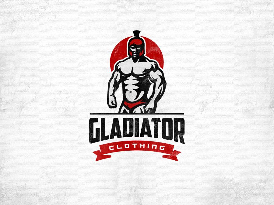 gladiator clothing red