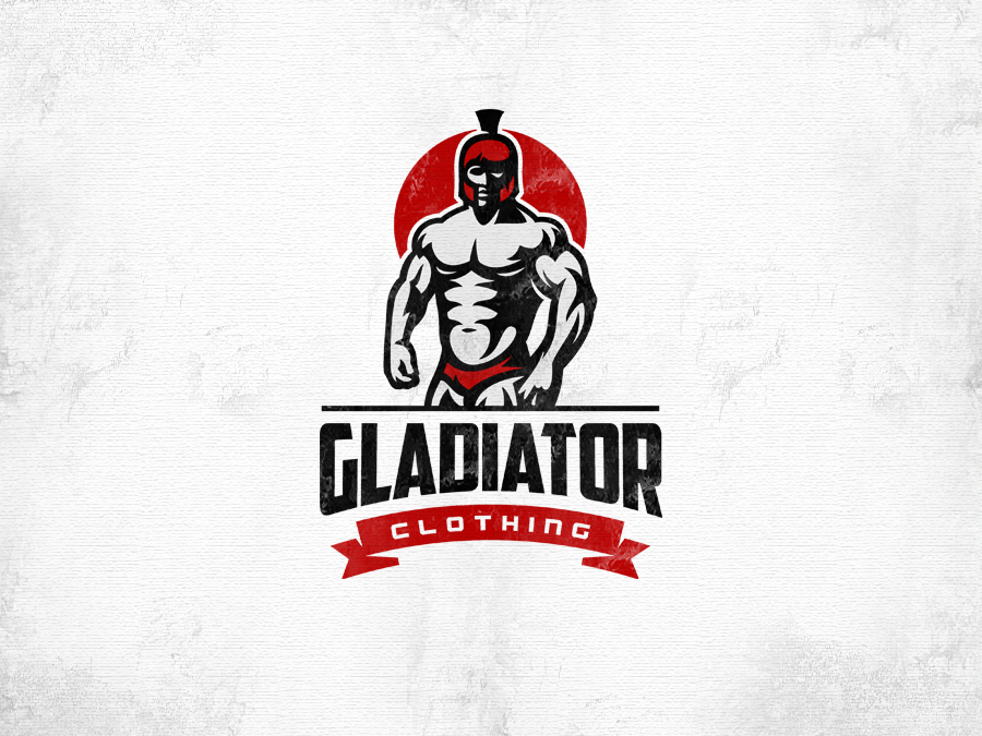gladiator clothing red