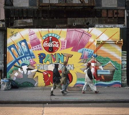 coca cola street art