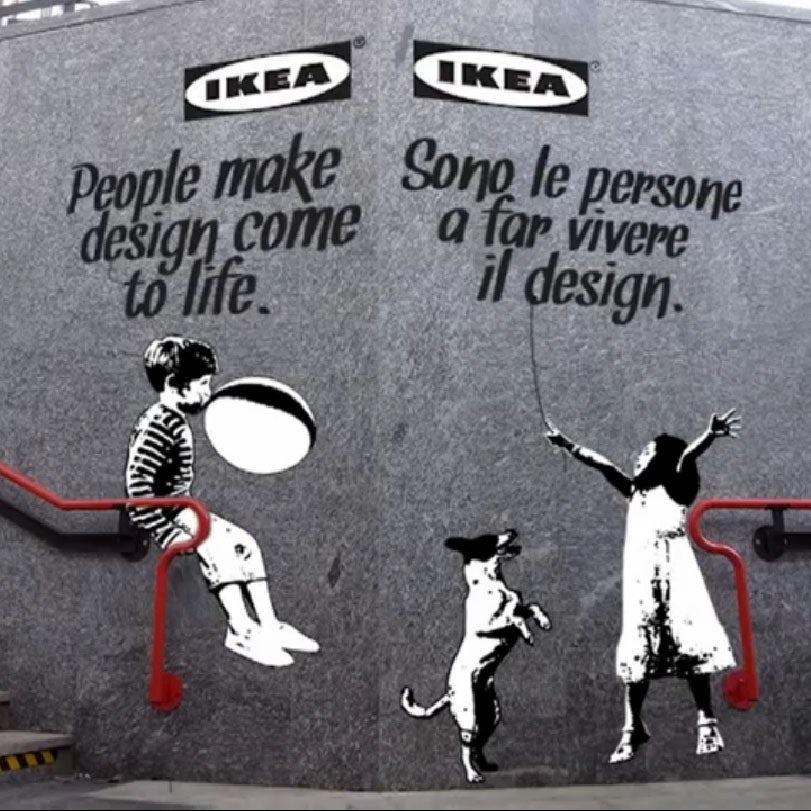 Banksy idea ad