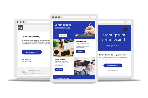 Free Email Templates From Professional Designers