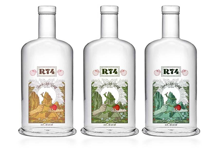 rum label