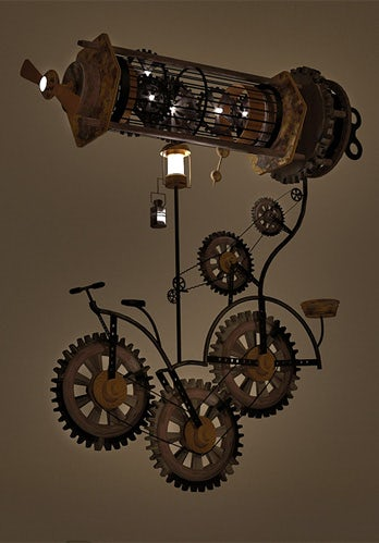 steampunk mechanical design