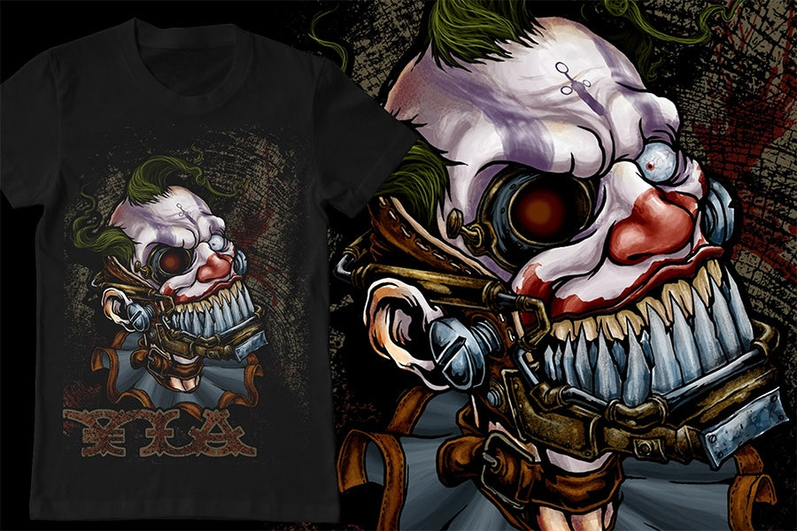steampunk clown