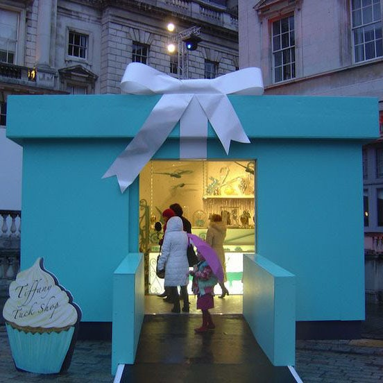 tiffany's pop up shop