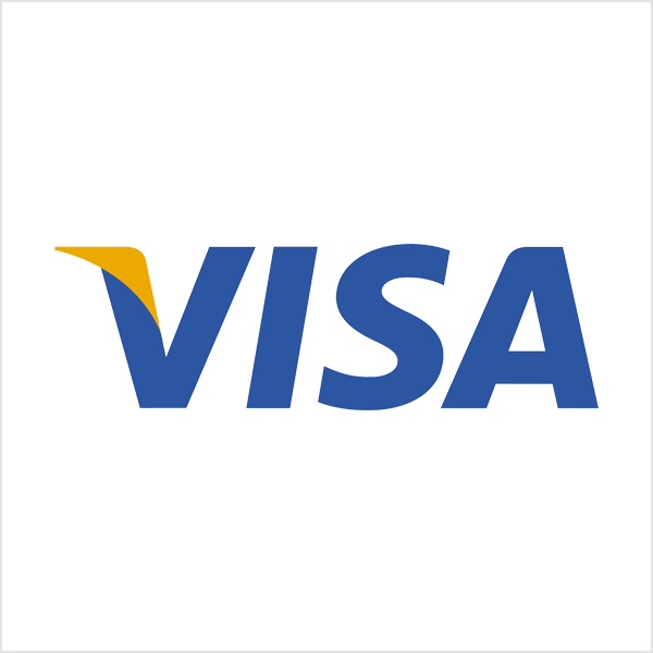 Visa wordmark logo
