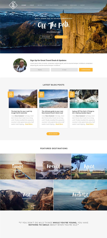 webdesign-reiseblog