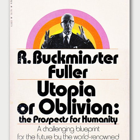 Utopia or Oblivion logo with Bauhaus font