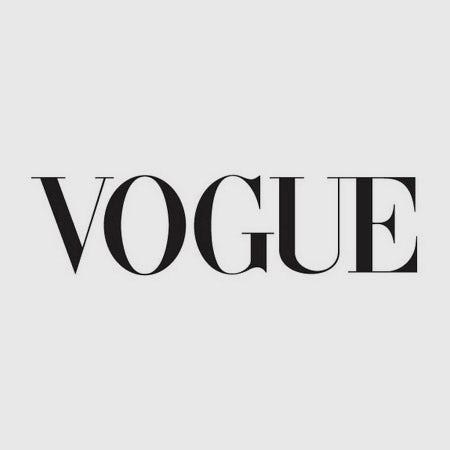 Vogue logo font