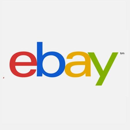 ebay logo with America Univers logo font
