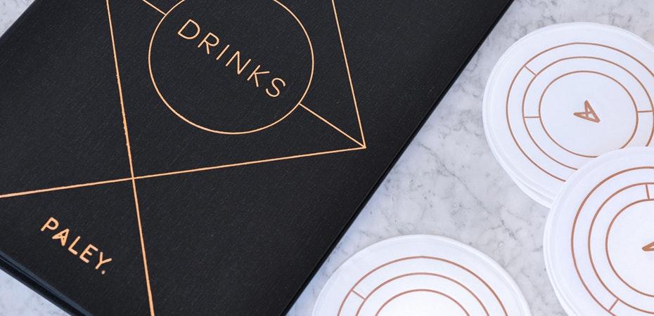 elegant bar restaurant logo