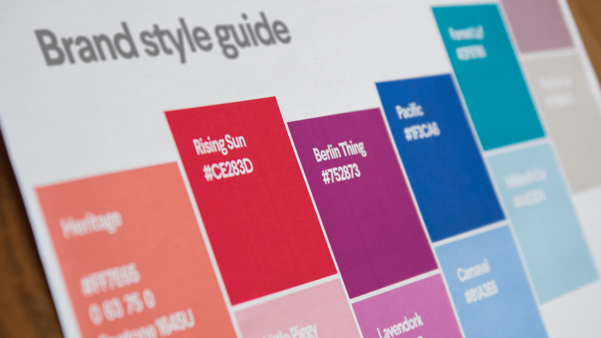 How To Create A Brand Style Guide 99designs