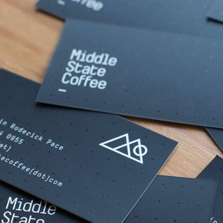 modern geometric coffee roaster logo