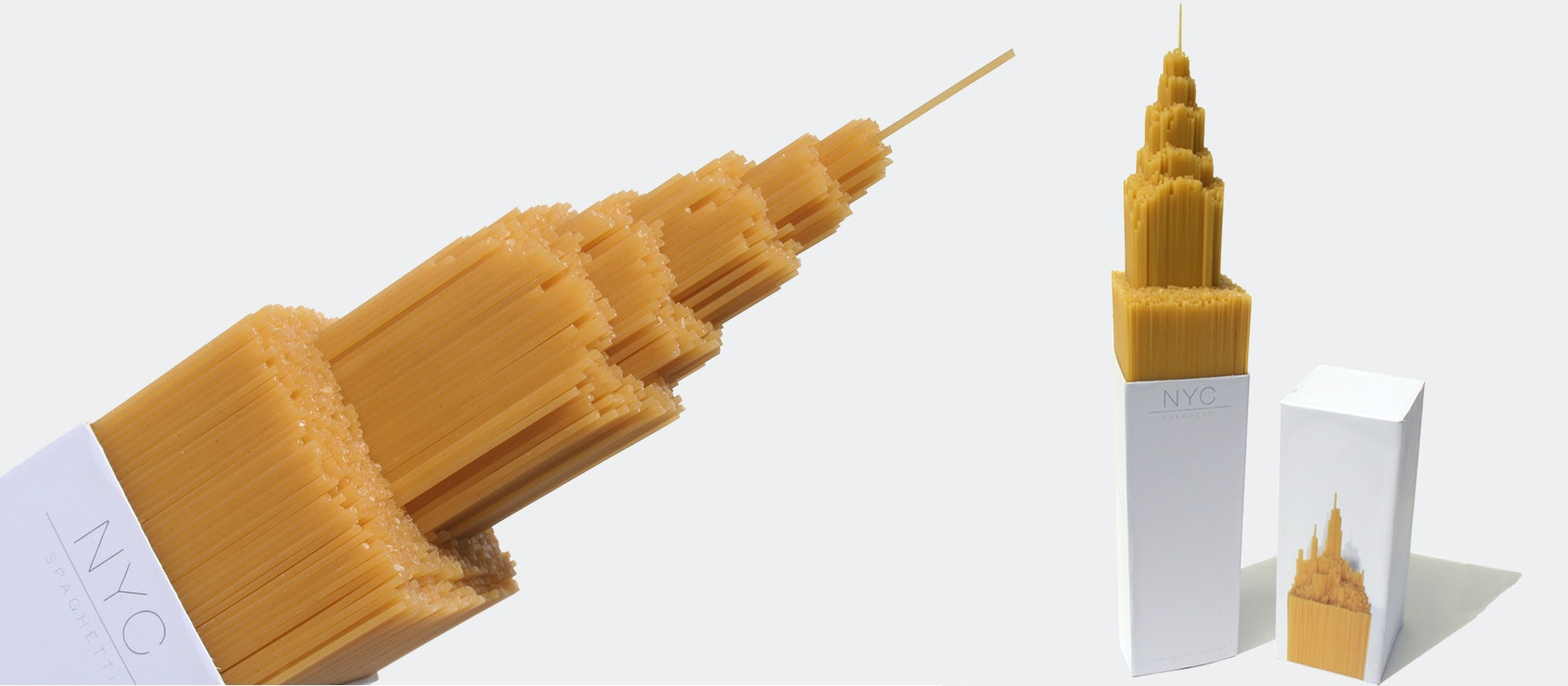 NYC Spaghetti product packaging