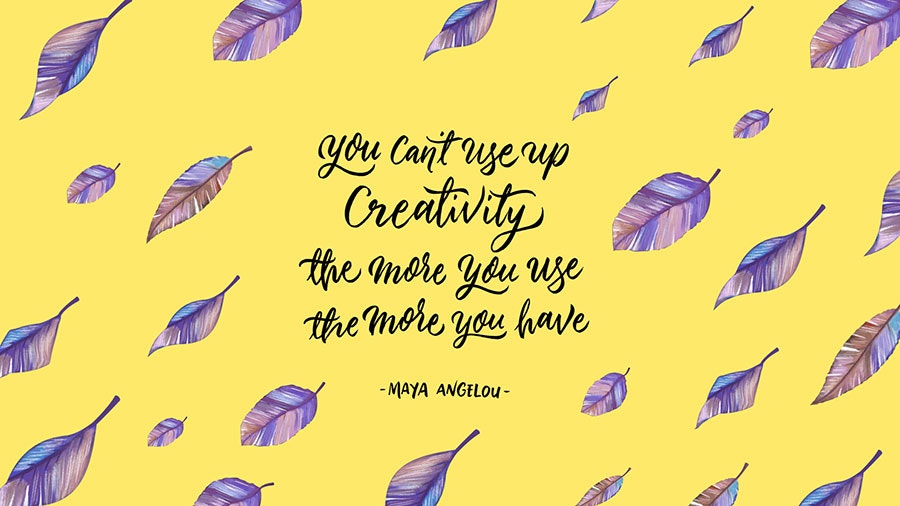 maya angelou famous creative quote