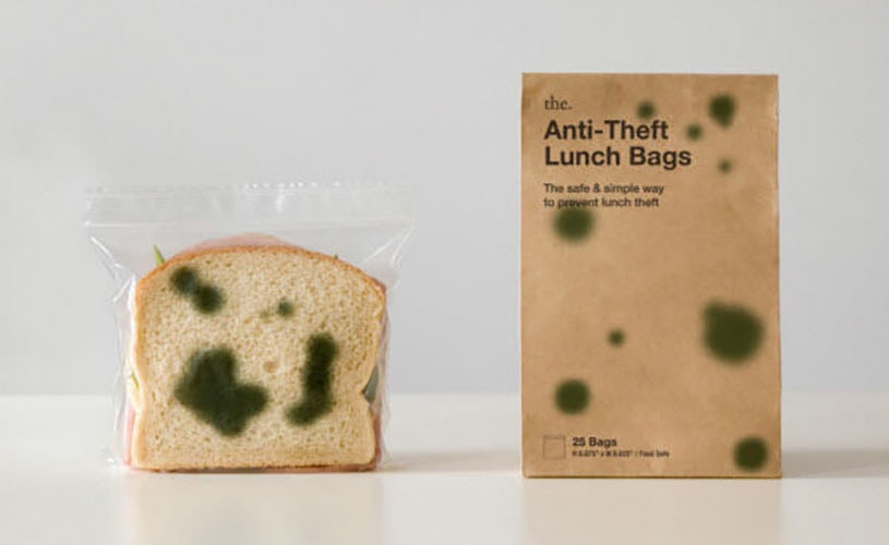 Anti-Theft bag product packaging